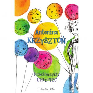 przezroczysty chlopiec okladka ksiazka Antoniny Krzyszton